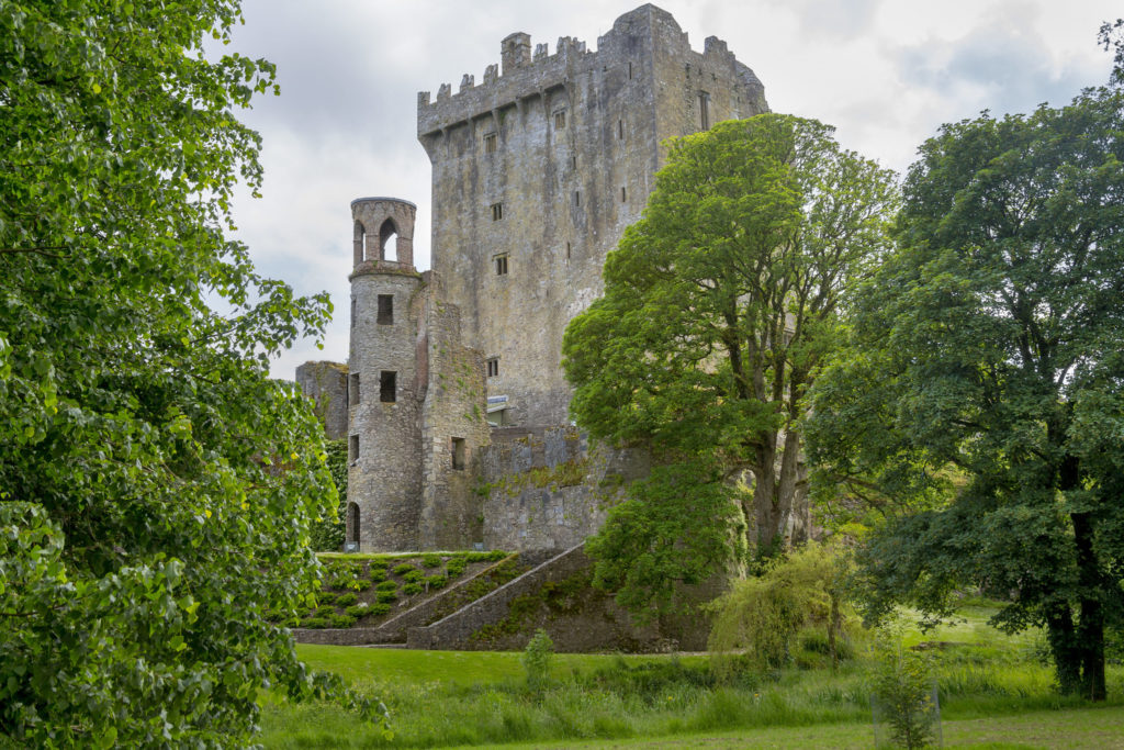 Blarney Castle with O'Connors of Kerry